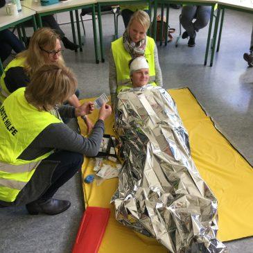 Erste-Hilfe-Kurs der Lehrkräfte der AFS
