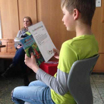 Besuch der Stadtbücherei und Lesenacht der Klassen G1 und G2