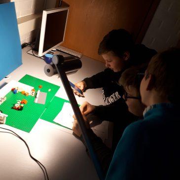 """Legofilm der BO1 zur Lektüre """"Wie geht's weiter, Leon?"""" von Frauke Steffek"""