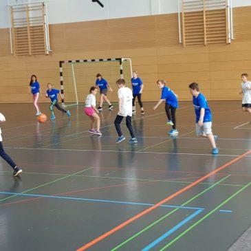 Fußballturnier im Schulzentrum