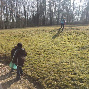 Osterputz 2015 der Anne-Frank-Schule in Gersfeld
