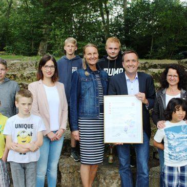 Anne-Frank-Schule erneut ausgezeichnet