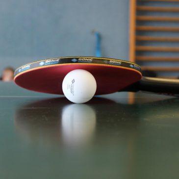 Viel Spaß und Kampfgeist beim Tischtennisturnier der Schule