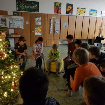 Weihnachtliche Lesenacht der Mittelstufe