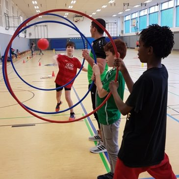 Sporttag Erich-Kästner-Schule Hilders