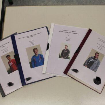 Bewerbungsmappen für Betriebspraktika